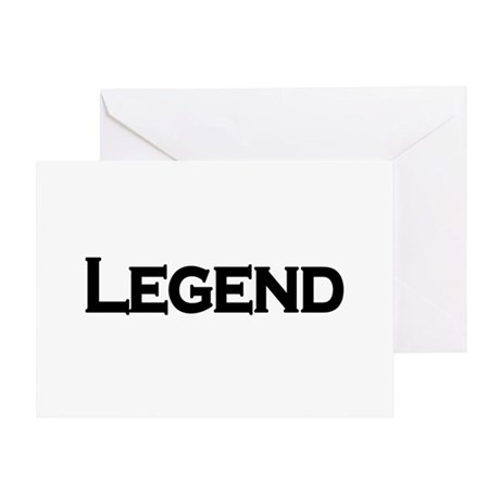 Legend Greeting Card