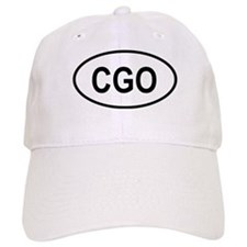 Democratic Republic of the Congo Oval Baseball Cap