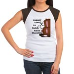Forget Chocolate Women's Cap Sleeve T-Shirt