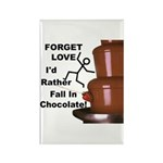 Forget Chocolate Rectangle Magnet (100 pack)
