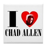 Chad allen Tile Coaster