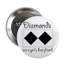 "Double Diamond 2.25"" Button (10 pack)"