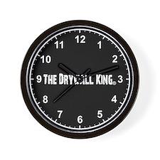 The Drywall King Wall Clock