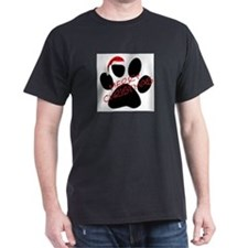 Cute Dog Paw Print T-Shirt