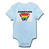 Johnathon Gay Pride (#006) Infant Bodysuit