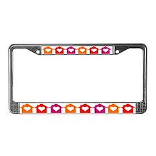 LOVE HOMES License Plate Frame