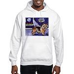 NORWICH TERRIER art Hooded Sweatshirt