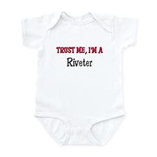 Trust Me I'm a Riveter Infant Bodysuit