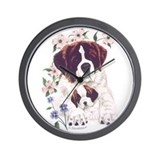 Saint Bernards Wall Clock