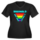 Reginald Gay Pride (#008) Women's Plus Size V-Neck