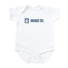 SHORKIE TZU Infant Bodysuit