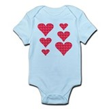Cool Hearts Infant Bodysuit