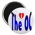 I Love The OC Magnet