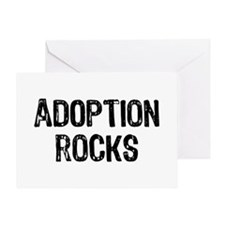 Adoption Rocks Greeting Card