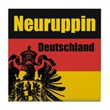 Neuruppin Deutschland  Tile Coaster