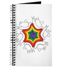 Rainbow & Doves Jewish Start Journal