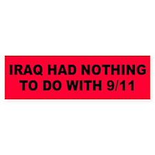 IRAQ Bumper Bumper Sticker