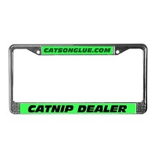 CATNIP DEALER License Plate Frame