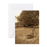 Cute Water pumps Greeting Card