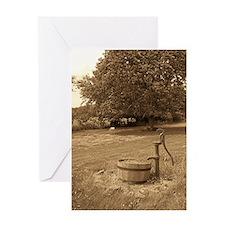water pump Greeting Cards