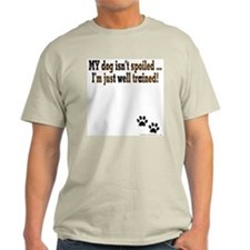 Spoiled Dog Ash Grey T-Shirt