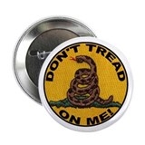 "Don't Tread on Me-Circle 2.25"" Button"