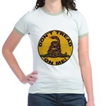 Don't Tread on Me-Circle Jr. Ringer T-Shirt