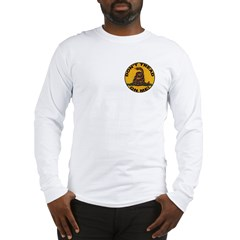 Don't Tread on Me-Circle Long Sleeve T-Shirt