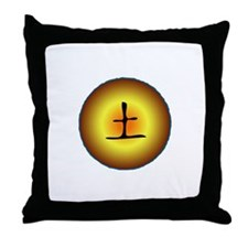 Earth Element Throw Pillow