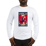 American Vizsla- Obey the V! Long Sleeve Tee