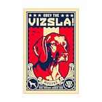 American Vizsla- Mini Poster Print
