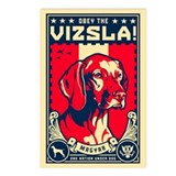 American Vizsla postcards (Pack of 8)