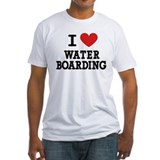 I Love Water Boarding Shirt
