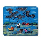 Flying Kites Mousepad