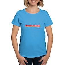 basic 80s movies ladies Dark T-Shirt