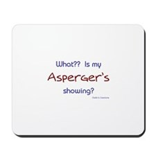 Asperger's Showing Mousepad