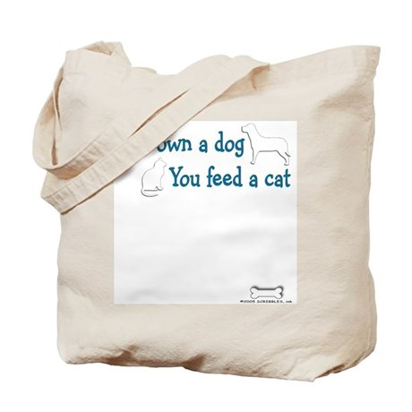 Own a Dog Tote Bag