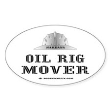 Rig Mover Oval Decal