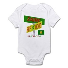 REP ZAIRE Infant Bodysuit