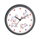 clock/ bumper Wall Clock