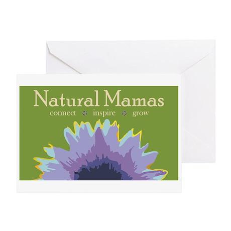 NaturalMamaLogo Greeting Cards