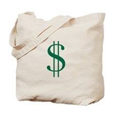 Cartoon Style Dollar Bag