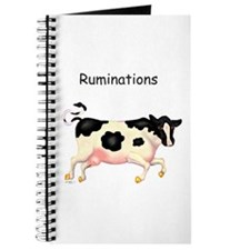 Ruminations Dairy Cow Running Journal Diary