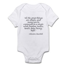 Cute Burke Infant Bodysuit