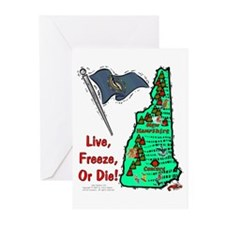 NH-Freeze! Greeting Cards (Pk of 10)
