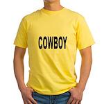 Cowboy Yellow T-Shirt