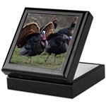 Four Gobblers Keepsake Box