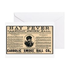 Carbolic Smoke Ball Greeting Cards (Pk of 10)