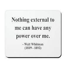 Walter Whitman 6 Mousepad