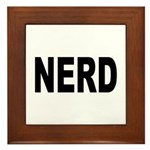 Nerd Framed Tile